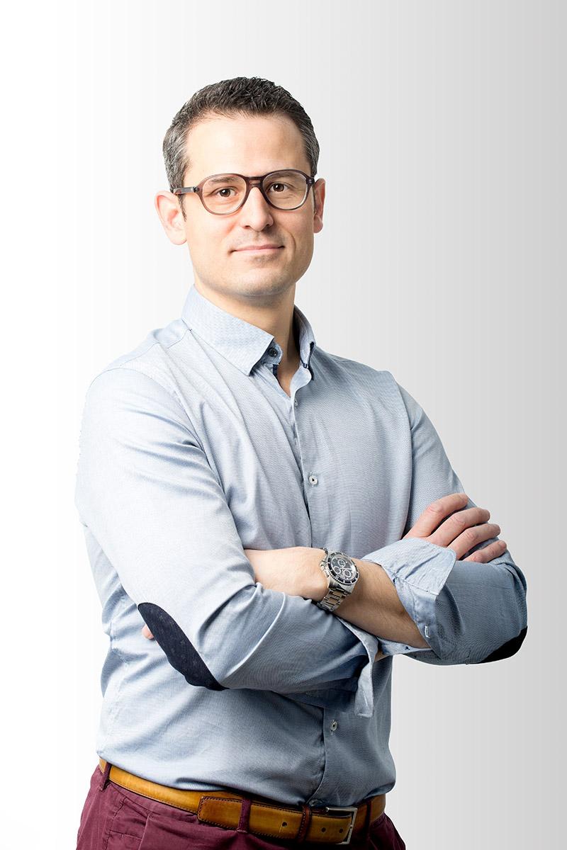 Portrait Docteur Jérôme Lauron par Axel Ménard
