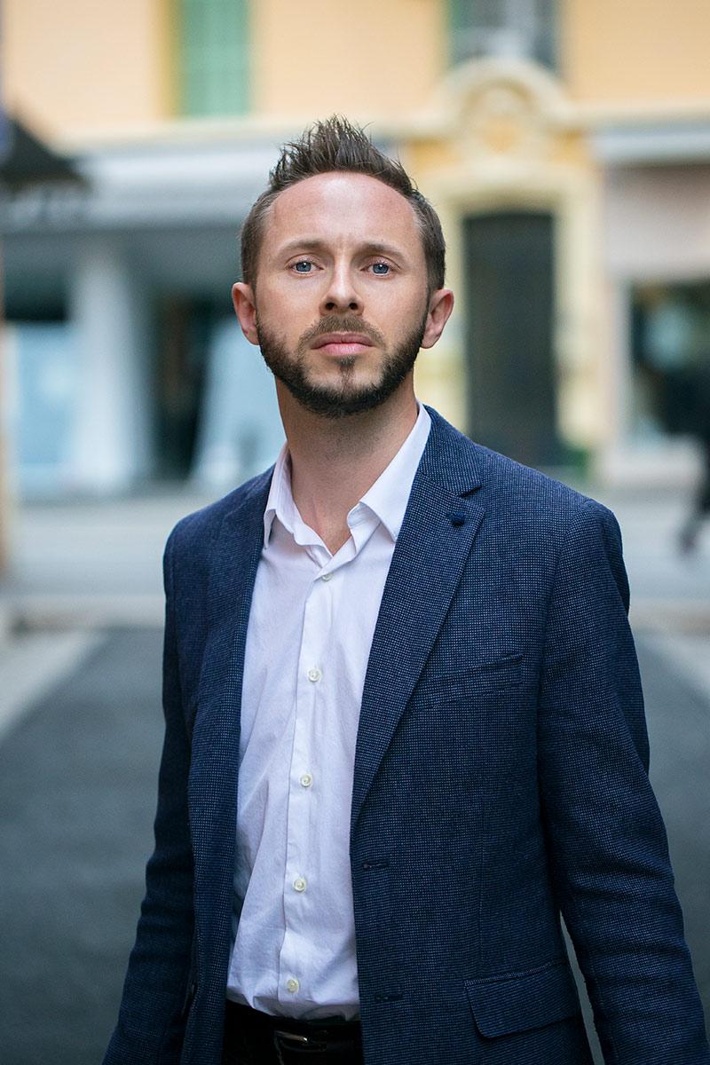 Erwann LE HÔ, président du Centre LGBT Côte d'Azur