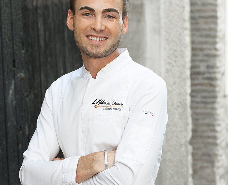 Stéphane Garcia, Chef cuisinier de L'Atelier des Saveurs
