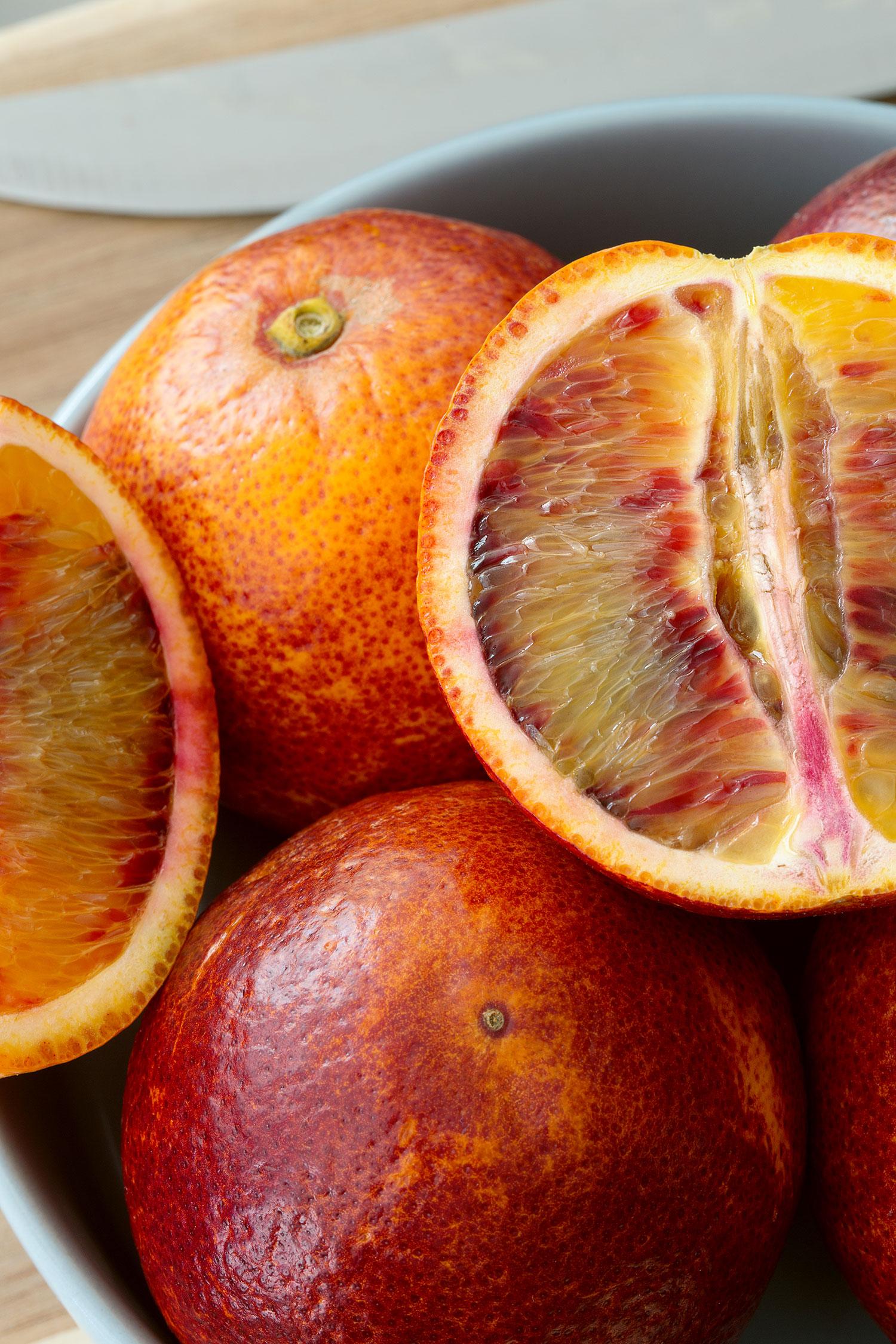Orange sanguine Axel Menard
