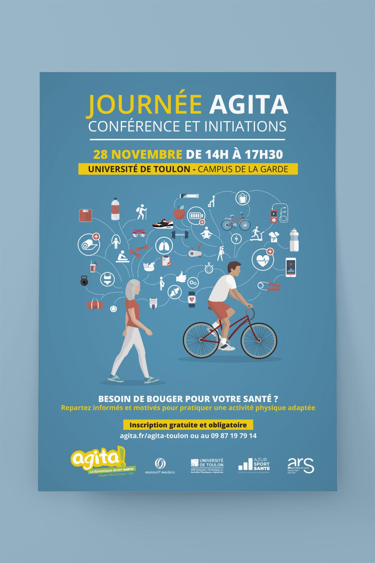 Affiche AGITA Sport Santé