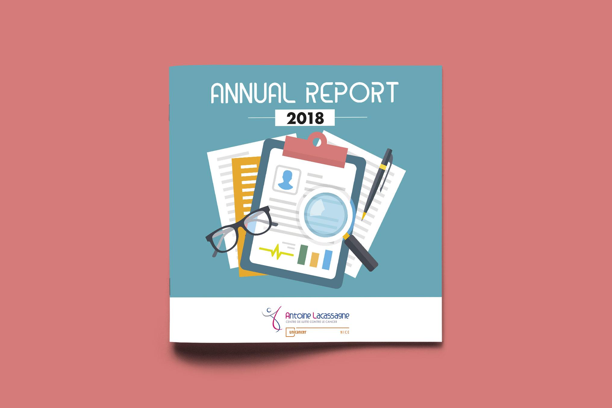 Brochure Rapport Annuel Centre Antoine Lacassagne