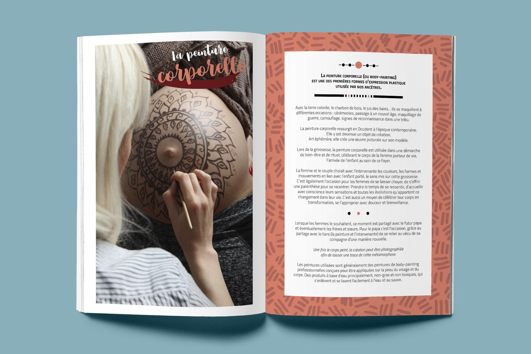 Brochure Mon Carnet d'Accompagnement à la naissance Interieur2
