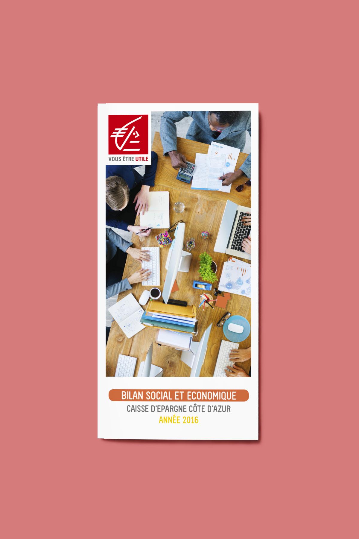 Nuancier Bilan Social Caisse d'Epargne Cote d'Azur CECAZ