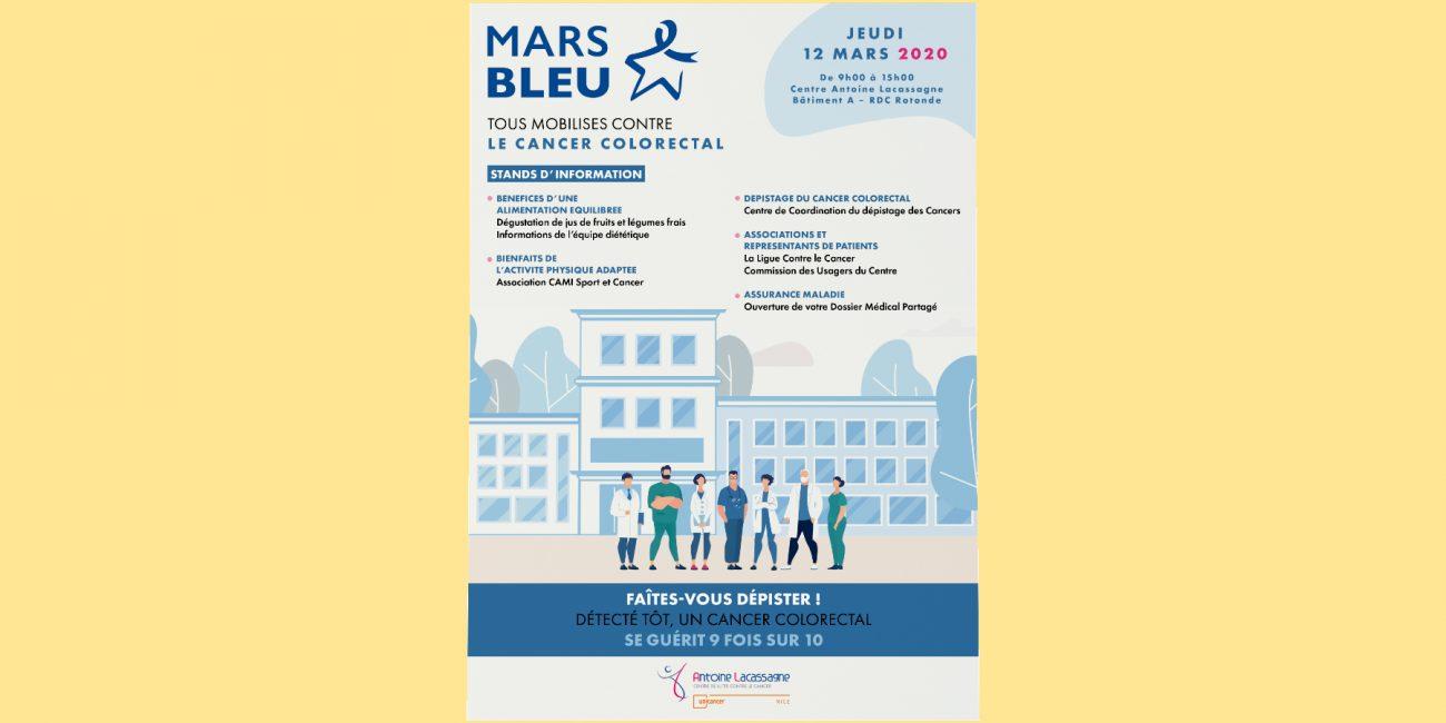 Affiche Mars Bleu